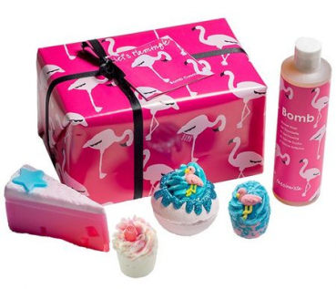 Geschenkset - Let´s Flamingle